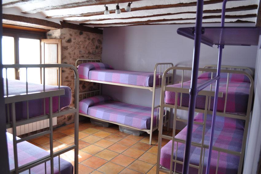 Habitación Lila 6 Plazas Albergue